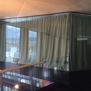 Paroi en verre pour un bureau - Vitrerie DAVID Sàrl - Yverdon-les-Bains
